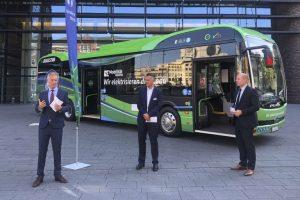 BYD inicia entrega histórica de frota de ônibus elétricos na Alemanha
