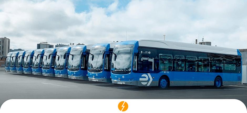 BYD vence a maior licitação de ônibus elétricos da Espanha