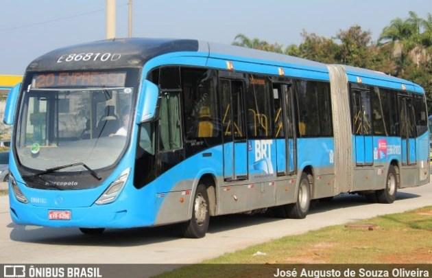 BRT Rio teve cinco estações vandalizadas no fim de semana