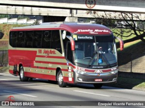 Transportes Santa Maria deve iniciar em breve operação no trecho São Paulo x Belo Horizonte