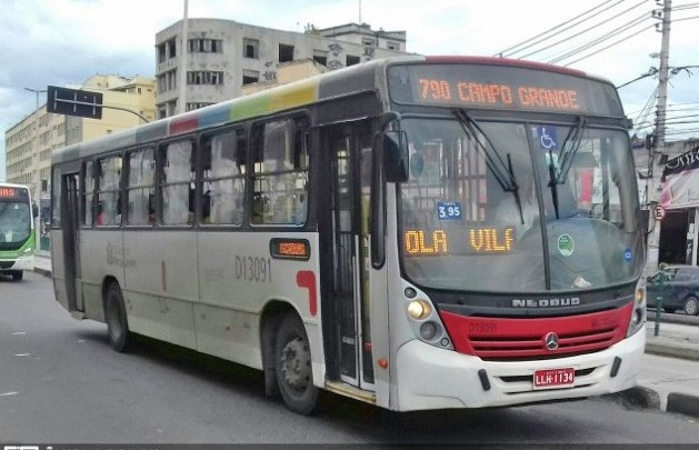 Rio: Passageira baleada no pescoço durante assalto a ônibus, segue em estado grave