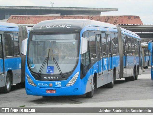 Criminosos furtam mais de 200 metros de cabo de energia de estação do BRT Rio