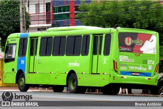 Prefeitura de Teresina determina que ônibus circule apenas com passageiros sentados