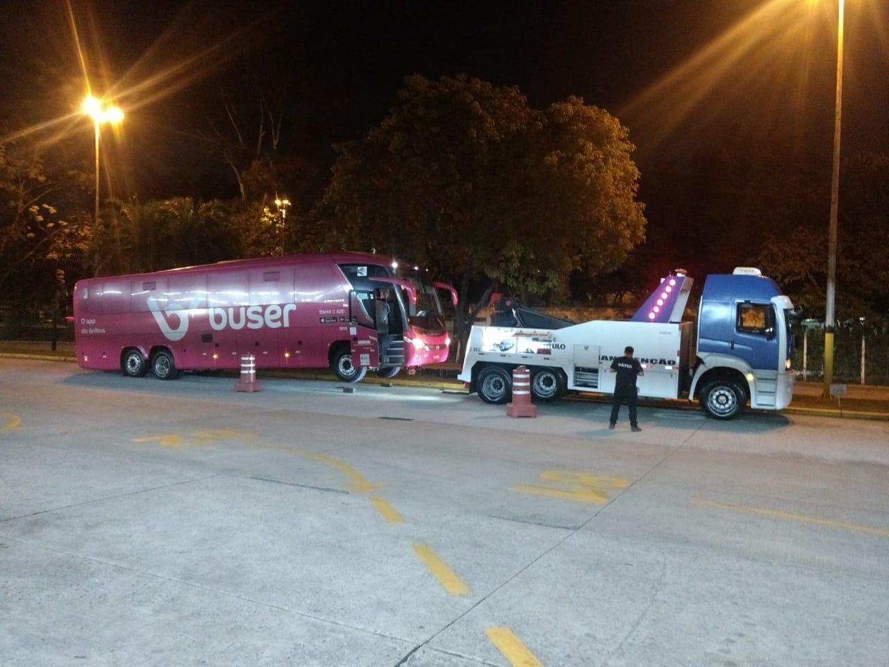 Vídeo: Fiscalização da ANTT apreende ônibus em São Paulo nesta sexta-feira