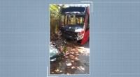 Campinas: Acidente com ônibus urbano deixa seis feridos nesta segunda-feira