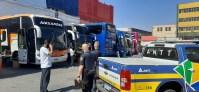 São Paulo: ANTT apreende cinco ônibus clandestinos na região do Brás