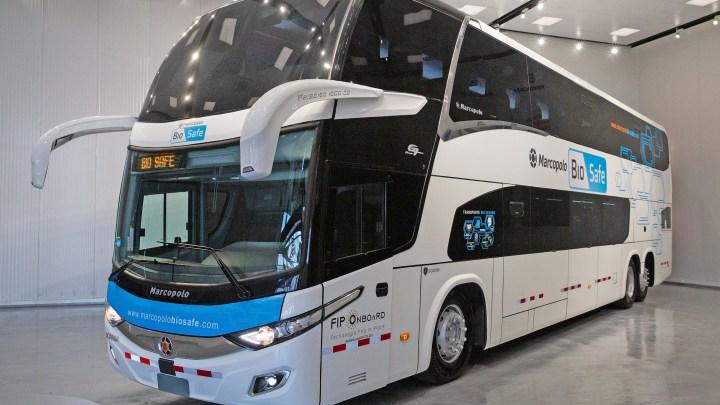 Marcopolo BioSafe já é oferecido no Peru, através da Mercobus