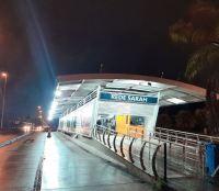 BRT Rio entrega estação Rede Sarah recuperada após atos de vandalismo