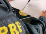 MT: Fiscalização da PRF prende passageiro de ônibus com 2 mandados na BR-174