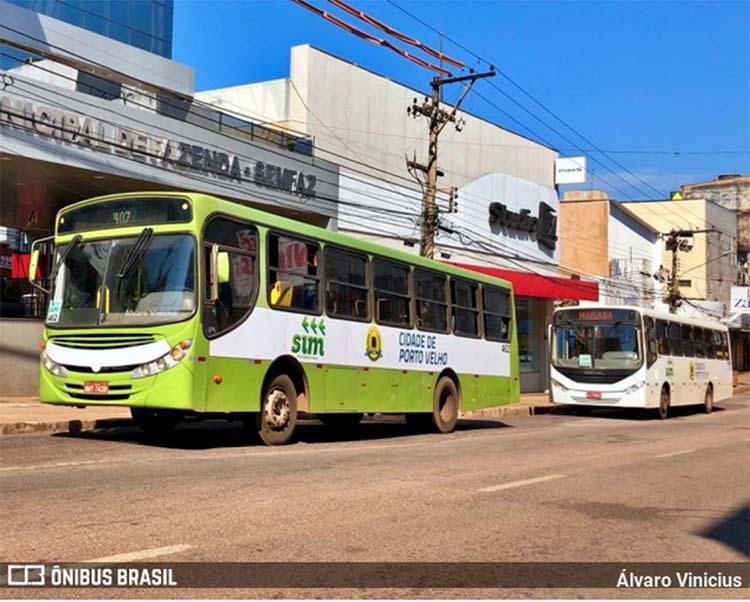 Justiça determina a apreensão de 22 ônibus em Porto Velho