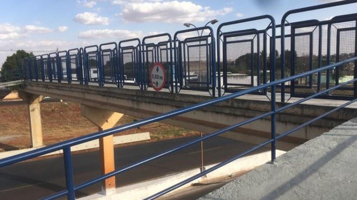 DNIT finaliza recomposição de passarela na BR-060/GO no município de Rio Verde