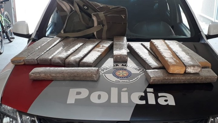 SP: Polícia Rodoviária Militar apreende quase 40 kg de entorpecentes em Presidente Epitácio