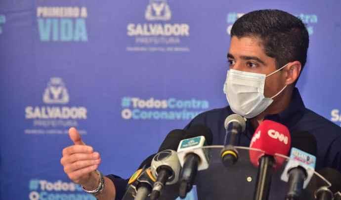 Prefeito de Salvador ACM Neto critica ação do MP-BA que pede o retorno de 100% da frota de ônibus