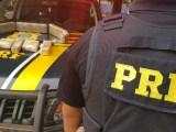 GO: PRF prende dois homens que transportavam entorpecentes em ônibus na BR-153 – Vídeo