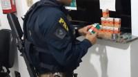 Vídeo: PRF apreende anestésico para cavalos em ônibus durante fiscalização na Régis Bittencourt