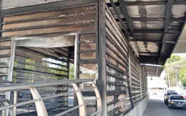 Rio: Cinco estações do BRT foram vandalizadas nos últimos dias