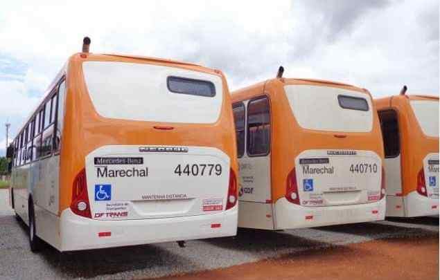 DF: Rodoviários da Auto Viação Marechal Brasília realizam paralisação