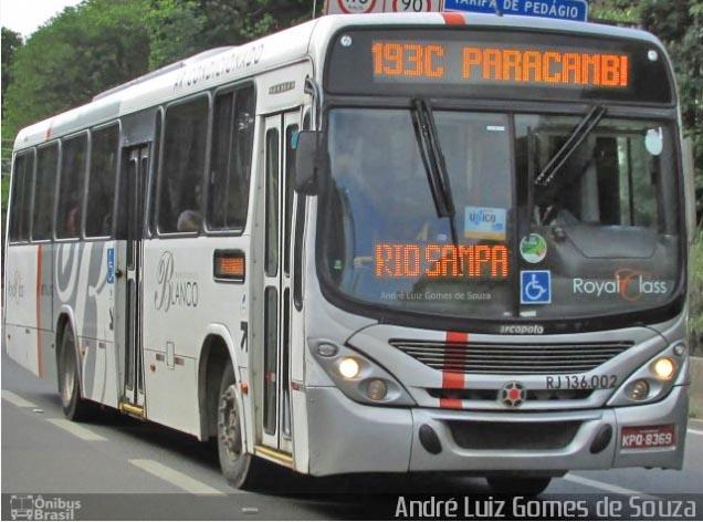 Rio: Assalto a ônibus da Transportes Blanco acaba com marginal morto na Via Dutra