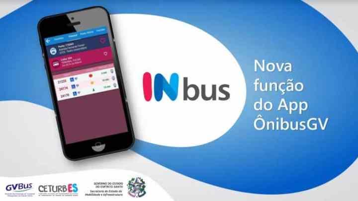 ES: Aplicativo InBus mostra lotação em tempo real no transporte Público