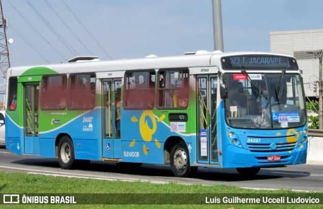 ES: Sistema Transcol inicia a semana com 100% da frota de ônibus