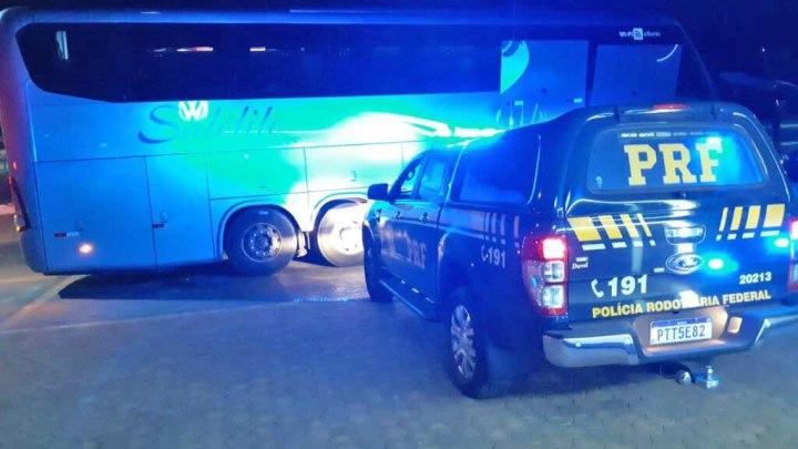 MA: Passageiro é preso durante fiscalização da PRF na BR-010 em Imperatriz