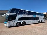 JG Tour e Viagens renova frota com moderno ônibus DD