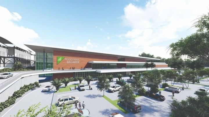 Autorizada a construção da nova rodoviária de Salvador localizada em Águas Claras, às margens da BR-324