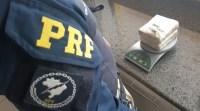 MS: PRF apreende 1Kg de entorpecente com passageira de ônibus em Rio Brilhante