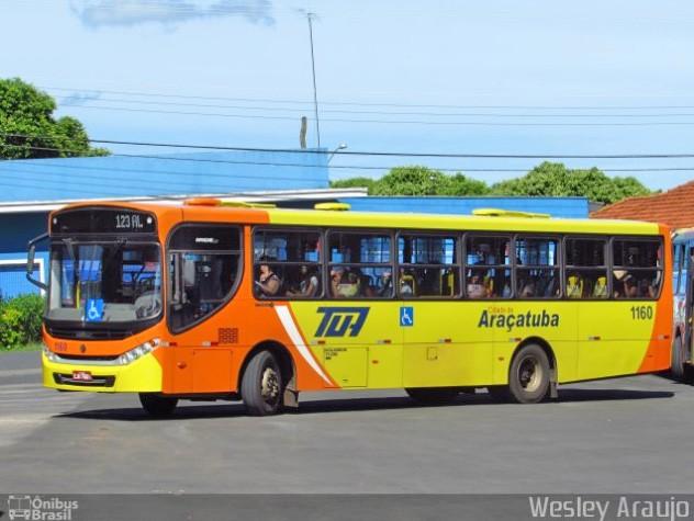 Vídeo: Passageiros empurram ônibus com problemas mecânicos em Araçatuba/SP