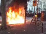 Vídeos: Paris vive dia de protesto e ônibus deixam de circular em diversos pontos