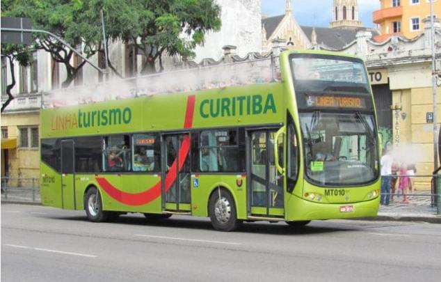 Curitiba: Linha Turismo volta operar a partir deste fim de semana