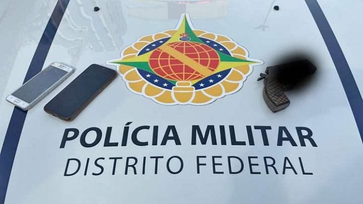 DF: Polícia Militar prende ladrão que atuava em paradas de ônibus