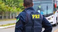 BA: PRF prende homem logo após assaltar um ônibus na BR-324 - revistadoonibus