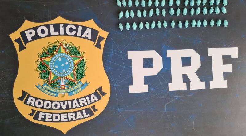 MG: PRF apreende passageiros com ecstasy na BR-365 em Patos de Minas