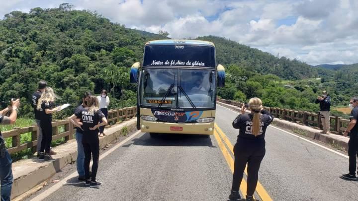 MG: Polícia Civil realiza reconstituição do acidente com ônibus que deixou 19 mortes em João Monlevade