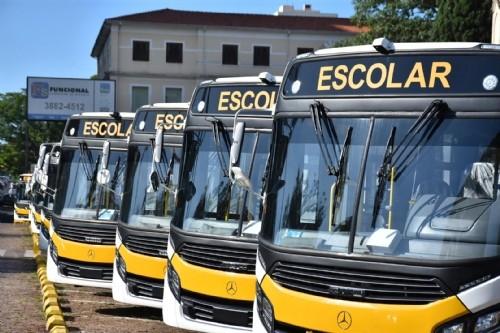 SP: Botucatu renova parte da frota de ônibus escolar