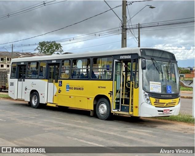 Rodoviários de Rio Branco iniciam paralisação nesta segunda-feira