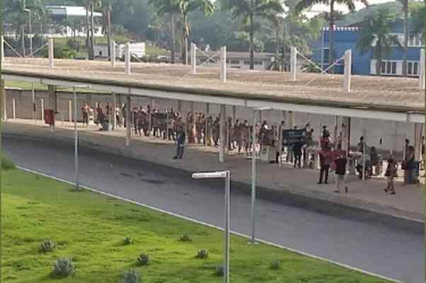 BRT Rio é alvo de reclamações de passageiros nesta sexta-feira 11