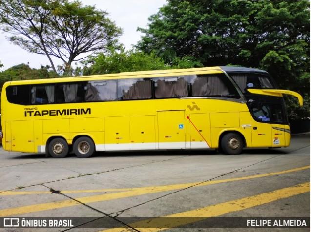Viação Itapemirim escala ônibus LD na São Paulo x Iúna x São Paulo