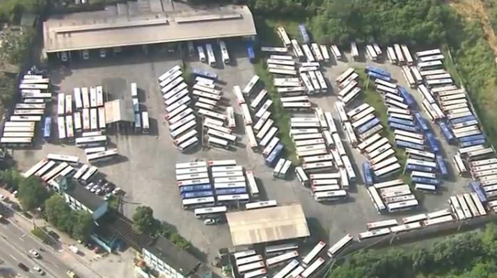 Rio: Rodoviários da Transportes Campo Grande iniciam paralisação nesta quarta-feira