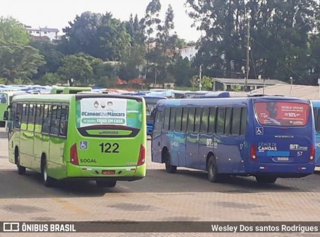 RS: Canoas inicia a semana com greve de ônibus e pontos lotados