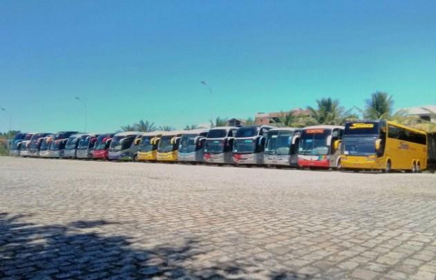 ES: Guarapari suspende a entrada de vans e ônibus de turismo no réveillon