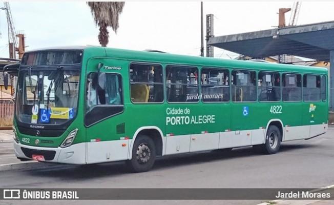 Porto Alegre: Termina o protesto de funcionários da Viação Presidente Vargas