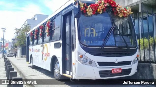 Rio: Transportes Paranapuan inicia operação com ônibus natalino