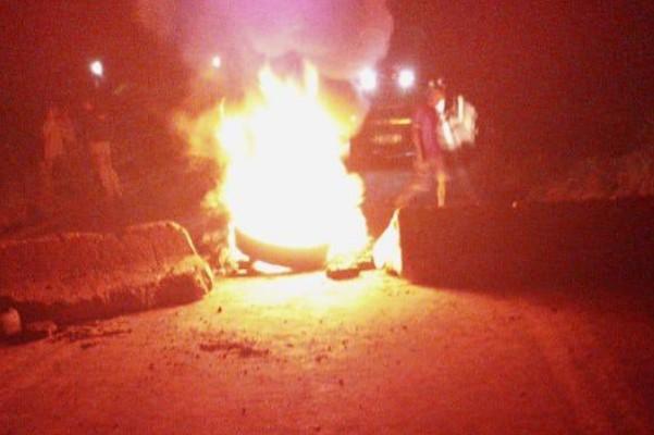 MG: Manifestação fecha a BR-381 em Nova Era nesta quinta-feira