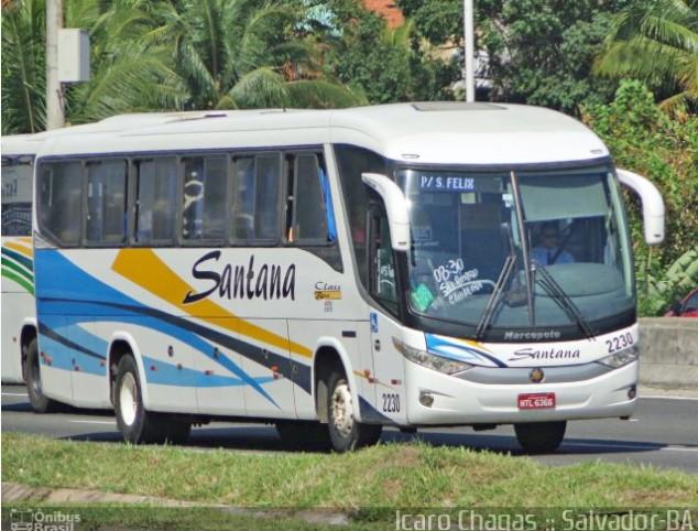 Salvador: Ônibus da Viação Santana viaja superlotado na véspera de natal, denuncia cliente