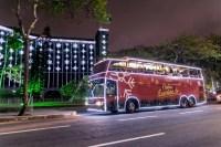 PB: Ônibus Iluminado é novo atrativo no Natal de Campina Grande