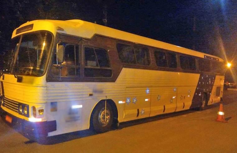 PR: Bandidos assaltam ônibus de turismo na região de Maringá