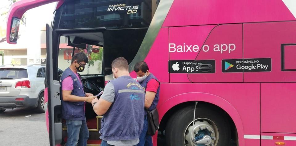 ES: Sefaz realiza combate à sonegação fiscal em fretamento de ônibus por aplicativo