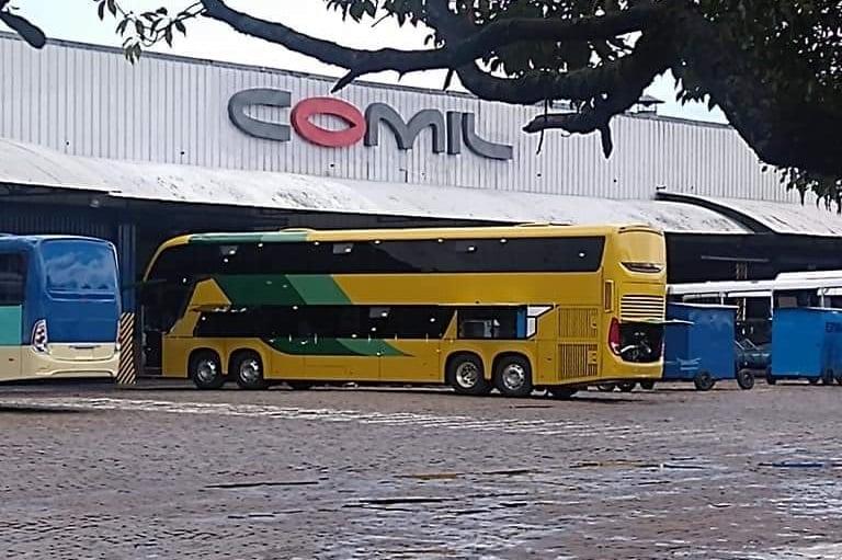 Novos ônibus Comil DD da Gontijo devem começar operar até fevereiro